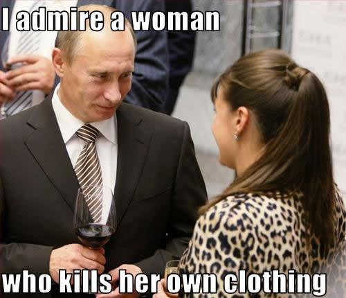 Vladimir Putin turn on meme