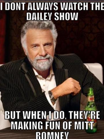 Daily show mitt romney meme