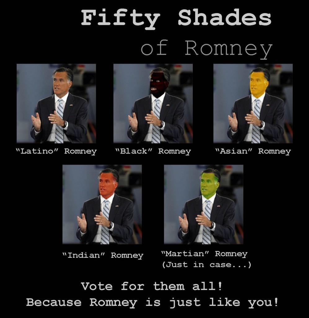 Fifty Shades Of Romney Politicalmemescom