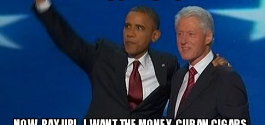 The Real Deal Obama Bill Clinton Meme
