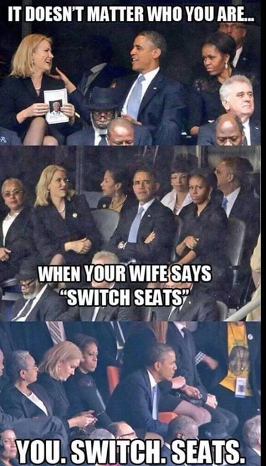 Obama Selfie Meme