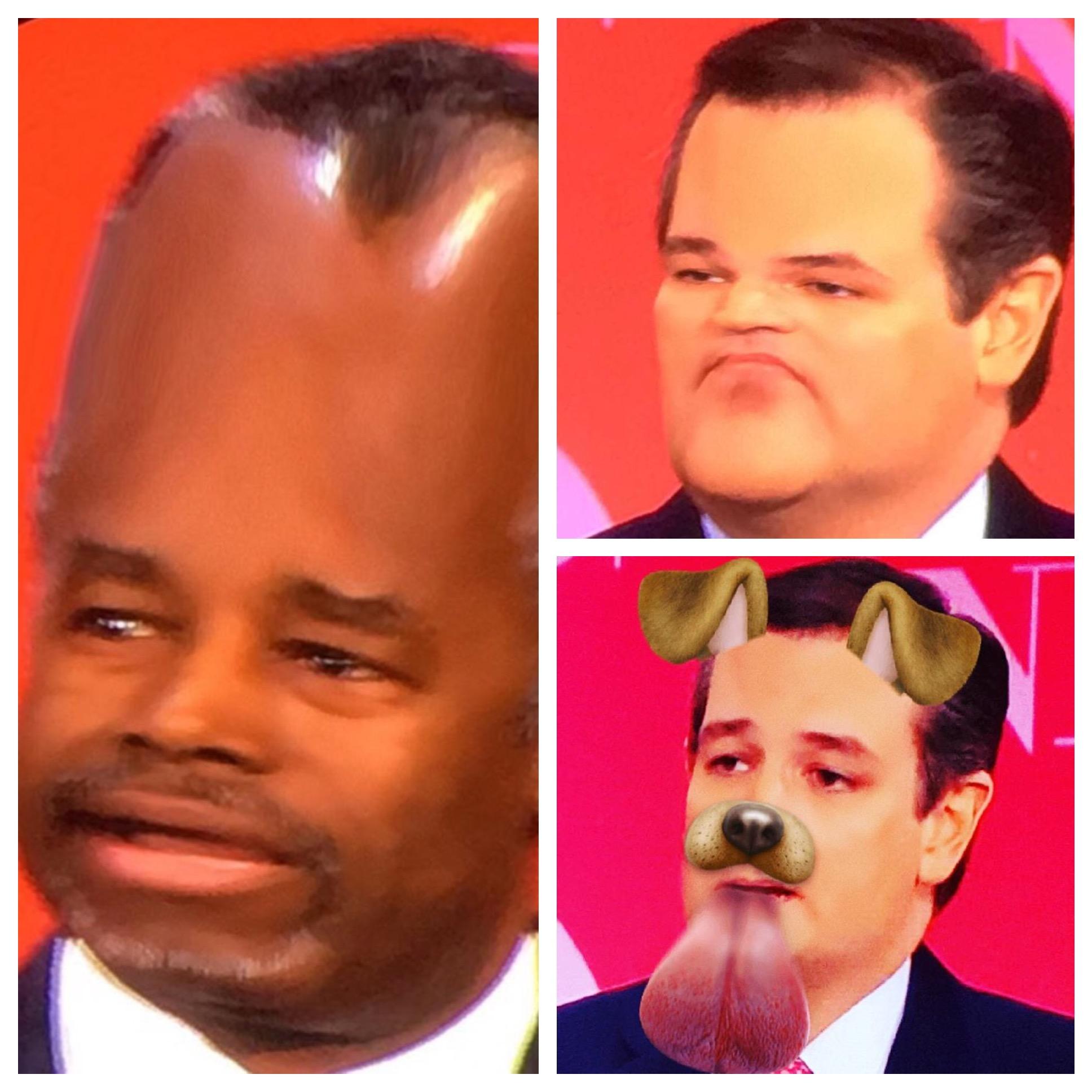 GOP Debate Snapchat