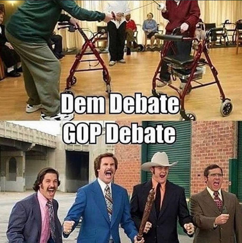 Gop and Liberal Debate Me